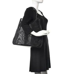 Gucci Bamboo Mesh Large Tote Bag w/ Pochette
